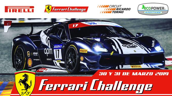 Promoción Especial Ferrari Challenge 2019