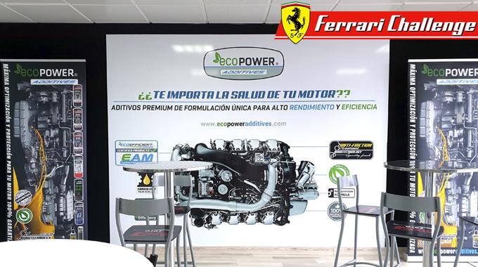 Ecopower Additives Presenta Su Nueva Gama De Productos En La Ferrari Challenge